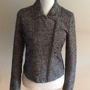 Hinge moto tweed jacket